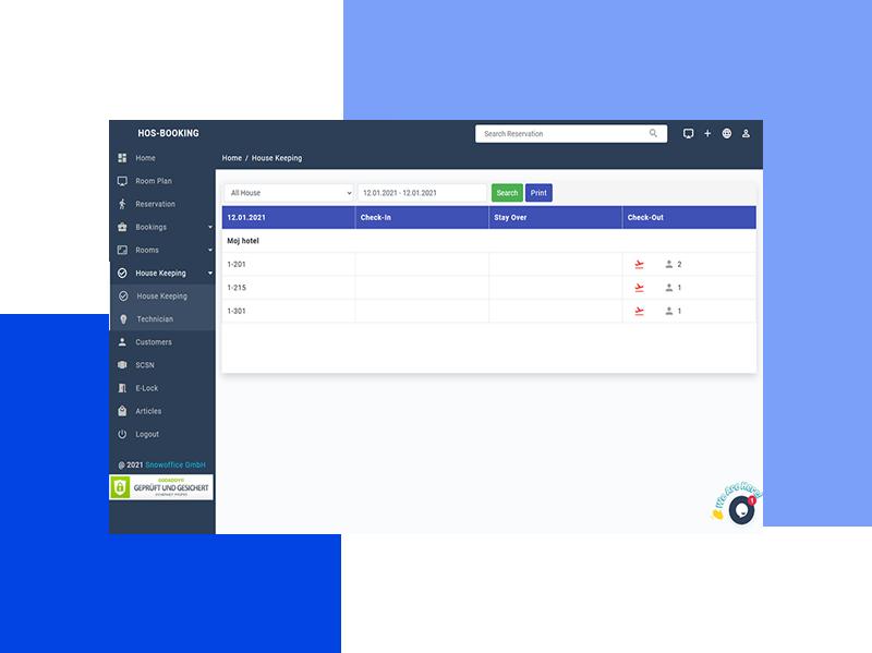 Web-based Hotel Management Software